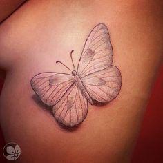 [www.tattoou.co.il :טאטו יו - כל מה שרצית לדעת על קעקועים] --- #butterfly #tattoo קעקוע פרפר