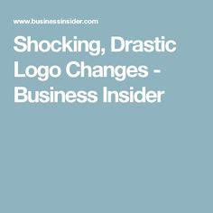 Shocking, Drastic Logo Changes - Business Insider