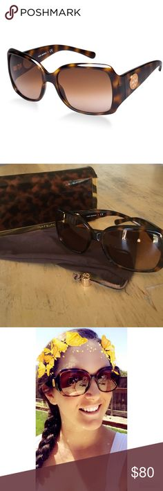 🔥New Listing🔥 Tory Burch Sunglasses Amazing Brown Tortoise Sunglasses with a brown gradient lens. Comes with Tory Burch Case & Microfiber Pouch. Some minimal scratches on lenses and a scuff on the bridge area of the left lens frame (see photos). Both are super tiny and do not affect the wear or style of these beautiful sunglasses. Tory Burch Accessories Glasses