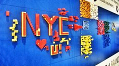 Play with our wall made of LEGO® bricks for your next stay! Submit the LEGO masterpieces you make at YOTEL to win! We post our favorites every Monday! #masterpiecemonday #yotel #yotelny #nyc #LEGO #play #mylegomasterpiece #NYC #NYCLovesYou