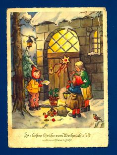 63 best vintage german christmas cards images on pinterest german christmas card m4hsunfo