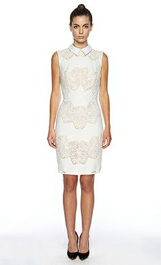 Lover the label - la femme White lace dress