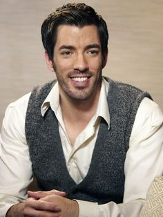 Property Brothers - Drew Scott  I want him and his brother to sell me a house :)