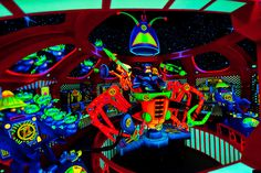 Buzz Lightyear's Space Ranger Spin ride, Magic Kingdom, Walt Disney World, Orlando, Florida USA - Photo by Blaine Harrington III