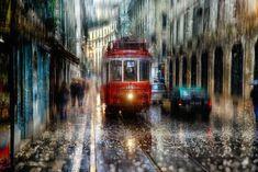 rain-street-photography-glass-raindrops-oil-paintings-eduard-gordeev-5