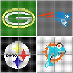 Random NFL AC Patterns by Gamekirby