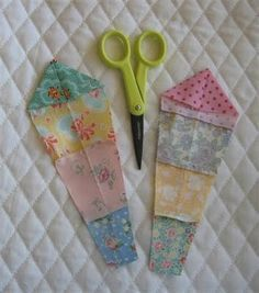 Dresden Plate Tutorial! This is a really easy way to make multi-colored Dresdens.