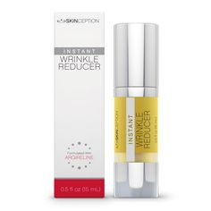 Just call it Botox in a bottle. We're talking about Instant Wrinkle Reducer - the topical cream with a peptide found in Botox called Argireline which hydrates the skin and temporarily stops wrinkles from forming. Best Anti Aging Creams, Anti Aging Serum, Wrinkle Remedies, Botox Injections, Anti Aging Supplements, Eye Wrinkle, Wrinkle Creams, Les Rides, Wrinkle Remover