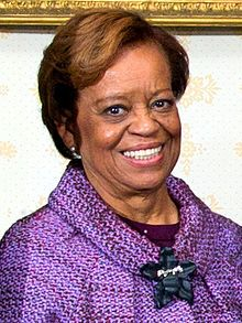 Our Beautiful First Mother.  First Family 2013 Inauguration Day portrait Miarian.jpg
