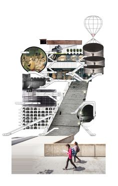 Pin by wang xinyu on studio 502 in penndesign architecture c Plan Concept Architecture, Architecture Drawing Plan, Architecture Drawing Sketchbooks, Architecture Portfolio Layout, Conceptual Architecture, Architecture Design, Architecture Graphics, Landscape Architecture, School Architecture