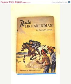 Ride Like an Indian! - Weekly Reader Book Club when Book Clubs Were Fun and Something We Looked Forward To - pinned by pin4etsy.com