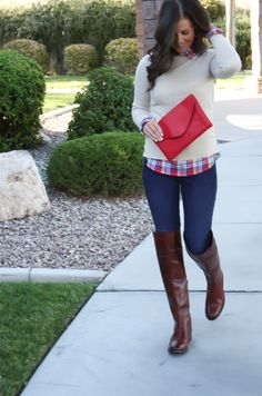 The Northeast Girl: OTK Boots and Plaid + Loeffler Randall: Friends and Family, Pre-Shop!