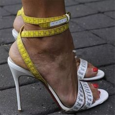 Cheap shoes campus, Buy Quality shoes taekwondo directly from China shoe tailor sandals Suppliers: Summer Women Sandals White Yellow Ruler Design Wedding Dress Shoes Woman Gladiator Sandals High Heels Women Pumps Zapatos Mujer Cute Shoes, Me Too Shoes, Women's Shoes, Shoe Boots, Dress Shoes, Shoes Style, Casual Shoes, Footwear Shoes, Prom Shoes