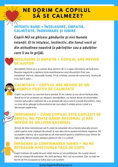#Parenting #părinți #educație #copii Cum ne manifestăm intenția de a ajuta copilul să se calmeze? Descarcă Infografic Cum ne manifestăm intenția de a ajuta copilul să se calmeze Emotions Activities, Youth Activities, Language Activities, Therapy Activities, Gentle Parenting, Kids And Parenting, Kindergarten Addition Worksheets, Positive Discipline, Baby Education