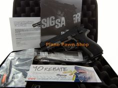 Plano Pawn Shop  - Sig Sauer Model Mosquito 2-Toned .22LR in Case with 1 Mag, $299.00 (http://www.planopawnshop.net/sig-sauer-model-mosquito-2-toned-22lr-in-case-with-1-mag/)