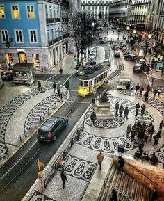 City view ~ Lisbon, Portugal Photo: Congrats Founders: - Best Places to Visit X Visit Portugal, Spain And Portugal, Portugal Travel, Places Around The World, Travel Around The World, Around The Worlds, Places To Travel, Places To Visit, S Bahn