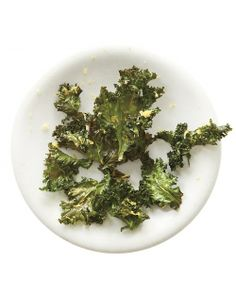 """How to make kale chips (better)"" Love the idea for Lemon Zest Kale Chips. Perfect low-temp directions. Could go even lighter on oil (try a teaspoon, well-tossed)."