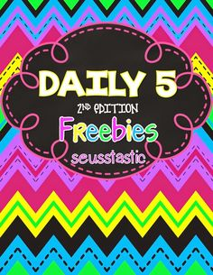 Daily 5-2nd Edition FREEBIES GALORE!