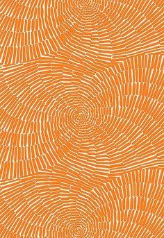 Trina Turk for Schumacher Sonriza Print Orange Indoor/Outdoor - Color Palette - Orange geometric pattern, seamless pattern design, boho style, Summer. Motifs Textiles, Textile Patterns, Print Patterns, Design Patterns, Textile Design, Color Patterns, Fabric Design, Surface Pattern Design, Pattern Art