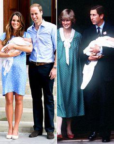 Princess Kate, Prince William, son ~ Princess Diana, Prince Charles, Prince William