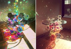 amazing table designs - lightsabers 2