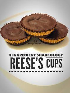 3 Ingredient Shakeology Reese's Cups