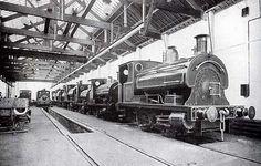 Atlas Locomotive Works, Deep Pit Road, St George, Bristol