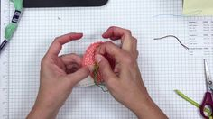 Hand Stitched Hedgehog Tutorial by Julie Ebersole. She makes it look SO EASY! #EllenHutsonLLC #EH_InStitches