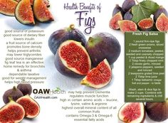 Figs are among the sweetest of fruits and provide a wide array of nutritional and health benefits for the body.