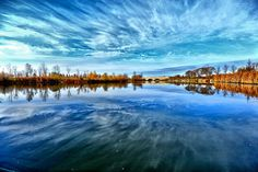 one of my favorite HDR photos of Kilcona park Weather Network, All Over The World, The Great Outdoors, Mother Nature, Reflection, Beautiful Pictures, Earth, Hdr, Landscapes
