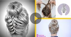 VIDEOTUTORIAL: TRENZA FRANCESA INVERTIDA - Hairfeed Lion Sculpture, Statue, French Braid, French Nails, Hair, Hairstyles, Sculpture, Sculptures