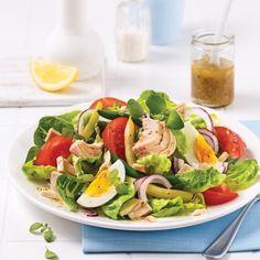 Salade niçoise au thon - Soupers de semaine - Recettes 5-15 - Recettes express 5/15 - Pratico Pratique