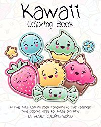 Since Anime Manga characters are typically black and white, this genre adapts to coloring books easily. Explore Cute Kawaii and Chibi coloring books too.