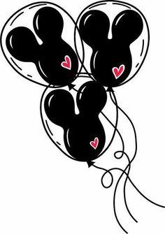 Disney Diy, Disney Crafts, Disney Fantasy, Mickey Mouse Art, Mickey Head, Mickey Mouse Clipart, Disney Kunst, Mickey Silhouette, Disney Clipart