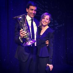Toto & Susie Wolff were shining bright at the FIA 2015 Gala last night! #AMG #F1