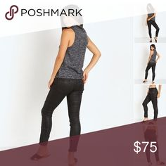 "Free People Jillian Coated Low Rise Skinny Pant Very on trend coated jean slightly stretchy fit. 4 pockets, button closure. 53% cotton, 23% rayon, 22% poly, 2% spandex. Inseam 28"". Style #OB 415119, black. The pants have panels and a kind of 'moto' stitching at bottom. Smoke free home, pets kept away from clothing. These are brand new just not a good look for me! Free People Pants Skinny"