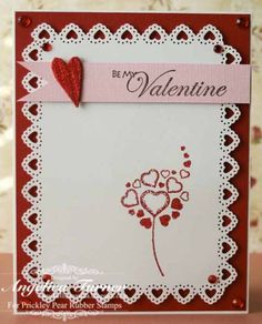 Be My Valentine by AngelicaTurner - Cards and Paper Crafts at Splitcoaststampers