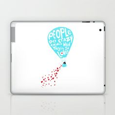 "disney's hercules.. ""people do crazy things when they're in love..."" Laptop & iPad Skin by studiomarshallarts - $25.00"