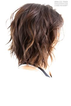 Choppy Bob Hairstyles for Stylish Ladies peinados # 2017 … Medium Shag Haircuts, Shaggy Haircuts, Choppy Bob Hairstyles, Pretty Hairstyles, Hairstyles 2018, Hairdos, Hairstyle Ideas, Medium Hair Cuts, Medium Hair Styles