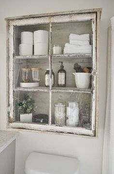 Finding Bathroom Storage For A Small Difficult Bathroom- Antique Cabinet