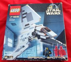 #LEGOSTARWARSIDEA Lego Star Wars Imperial Shuttle (7166) 100% complete In Original Box!  #LEGO for sale now on ebay for 99 cents