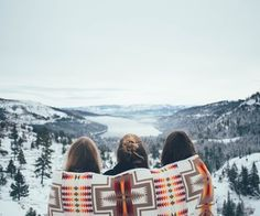 Winter views are best shared with friends