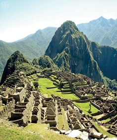"The ruins of Machu Picchu, Peru, from the book ""Tory Burch In Color"""