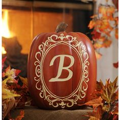 Monogram B Pumpkin