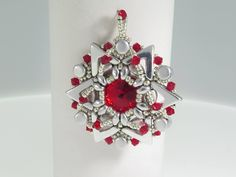 A personal favorite from my Etsy shop https://www.etsy.com/il-en/listing/535971974/beading-tutorial-starberrys-ava-and