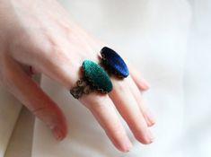 Velvet ring Handmade women jewelry Navy blue ring Red ring | Etsy Handmade Jewelry, Unique Jewelry, Handmade Gifts, Red Rings, Trending Outfits, Navy Blue, Women Jewelry, Velvet, Etsy