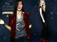 Our holiday lookbook is here! #freepeople #holiday