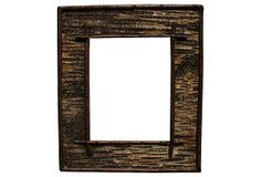 Vintage Birchbark & Twig Frame