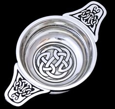 This Pewter quaich has a beautiful Celtic knot in the centre, symbolising union and eternity and making this loving cup perfect for toasting at wedding ceremonies. https://www.scotsconnection.com/Scottish-and-Celtic-Gifts/Quaichs__c-p-0-0-69-141.aspx