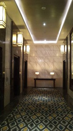 Makati Diamond Lift Lobby